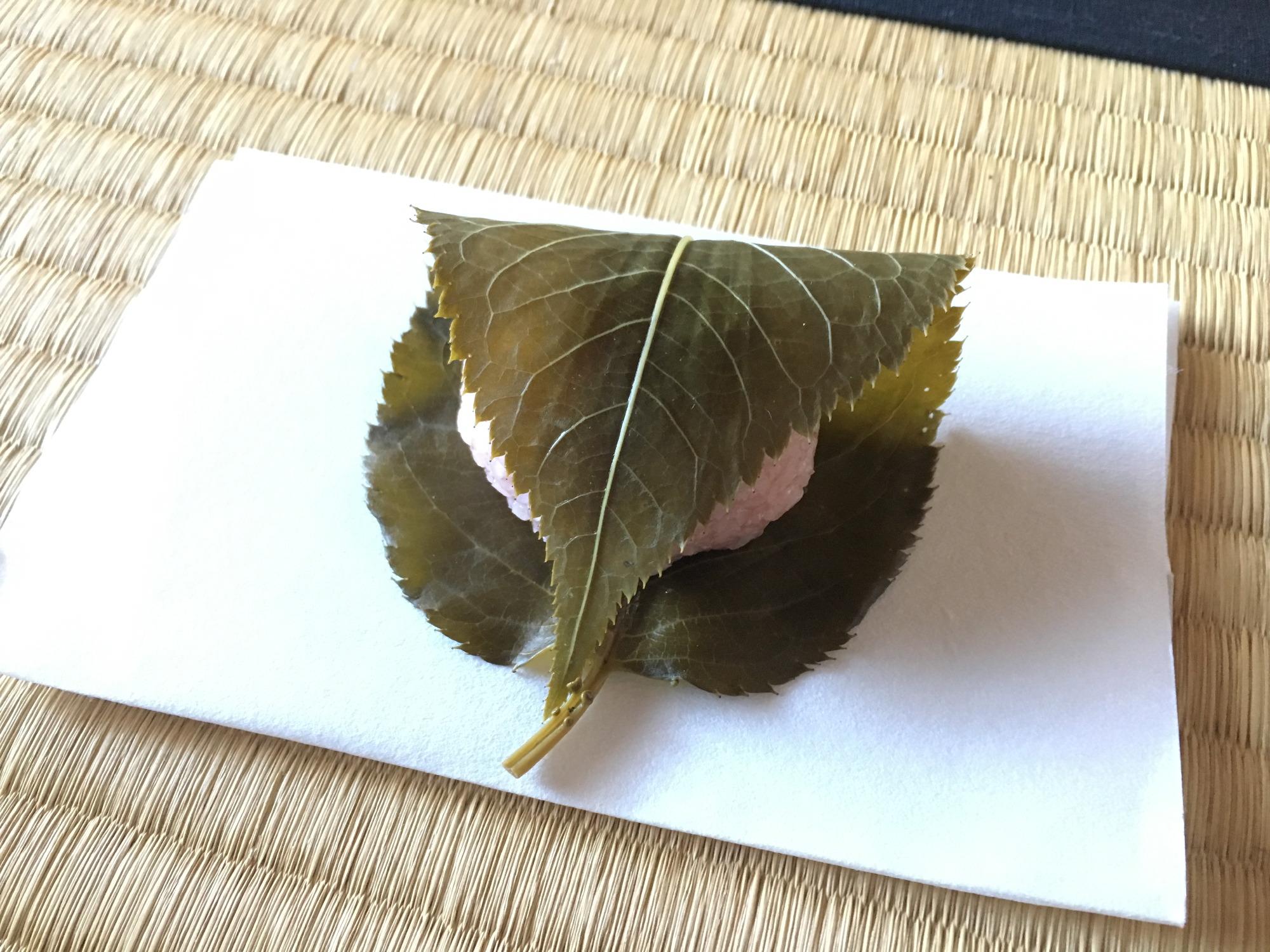 Fさんお手製桜餅