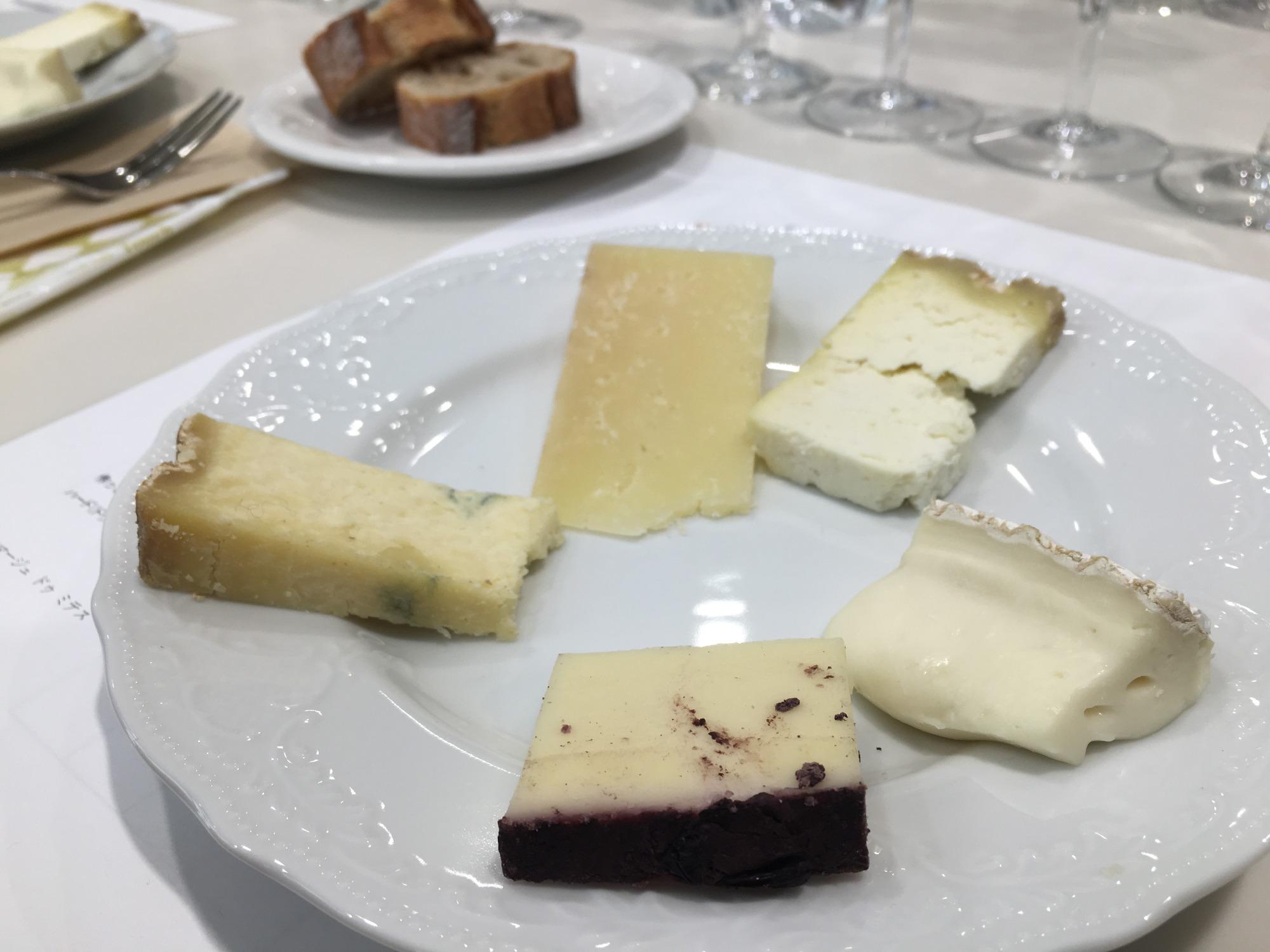 チーズ5種