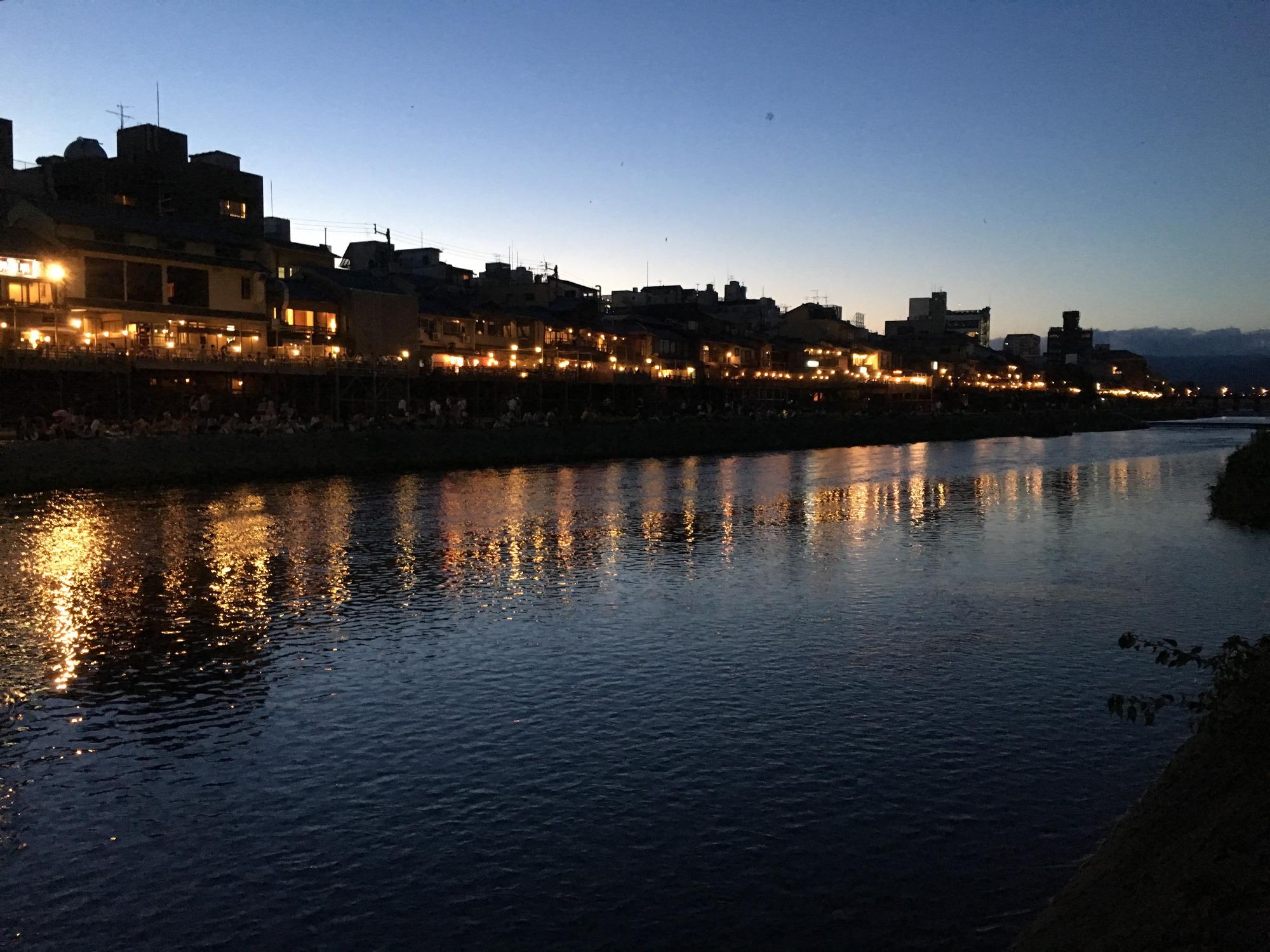 夕暮れの鴨川その3
