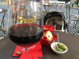 グラスワイン@Wintergarden
