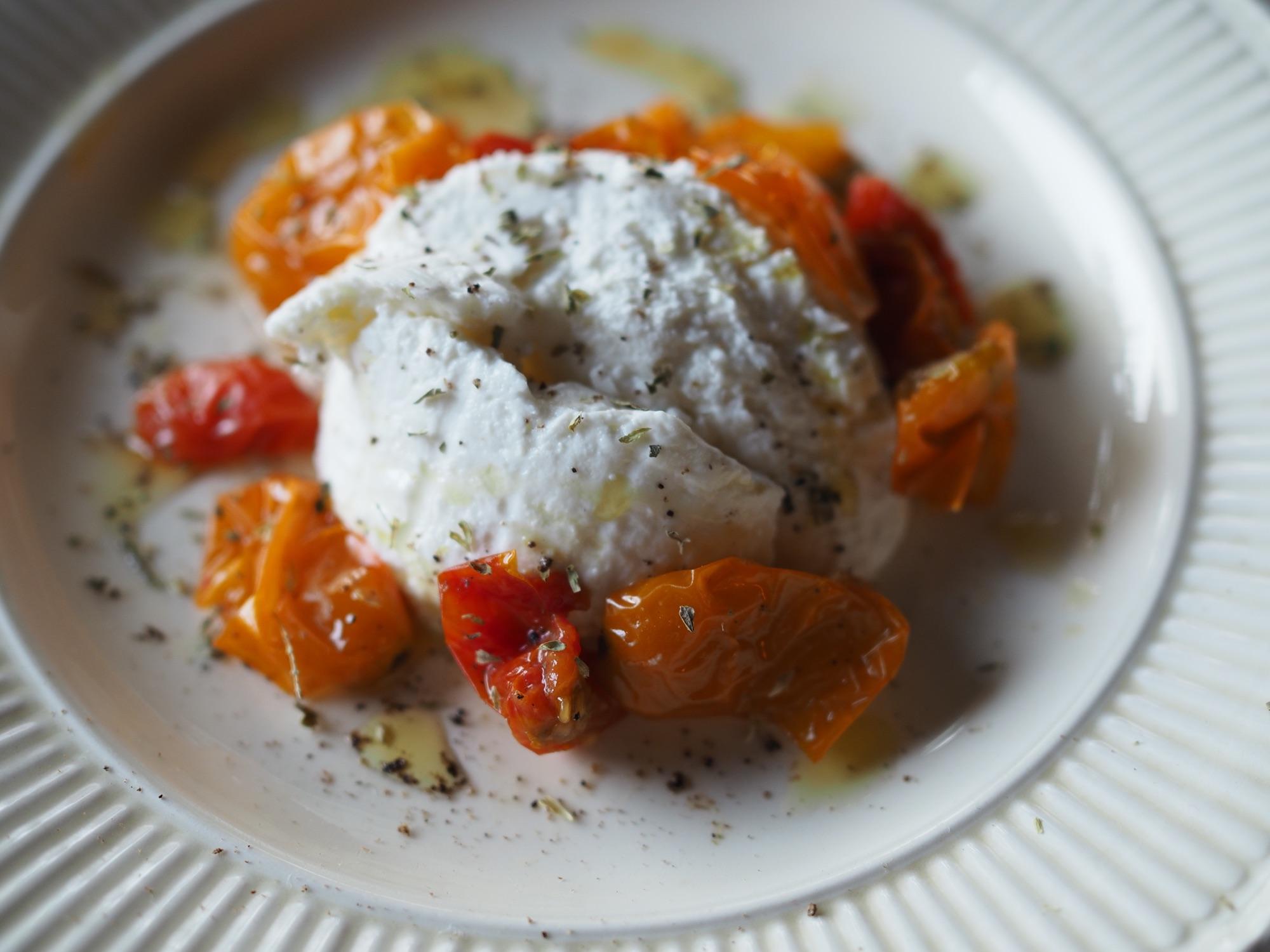 リコッタ&自家製ドライドトマト