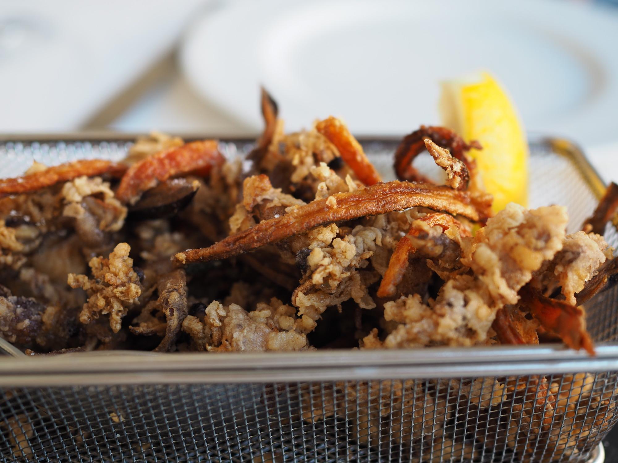 Calamari fritti@Cavallino Rosso